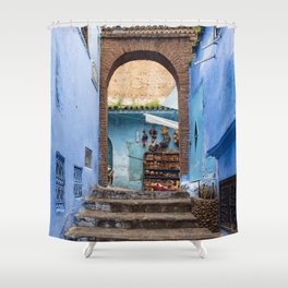 Doors - Chefchaouen II, Morocco Shower Curtain
