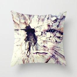 Bleak world of absent law Throw Pillow