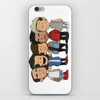 1d iPhone & iPod Skins featuring Schulz 1D by Ashley R. Guillory