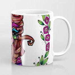 JennyMannoArt Colored Illustration/Rapunzel By JennyMannoArt Coffee Mug