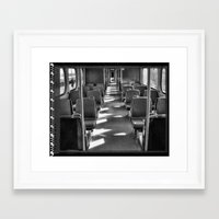 train Framed Art Prints featuring Train by Jean-François Dupuis