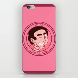 You're Welcome! iPhone Skin