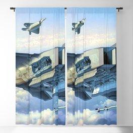 F22 Raptor Blackout Curtain