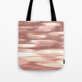 Rose gold copper shimmer Tote Bag