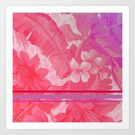 FLOral art Art Print