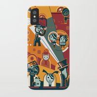 cinema iPhone & iPod Cases featuring Cinema by Petra Stefankova