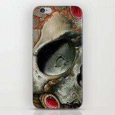 small bio skull iPhone & iPod Skin