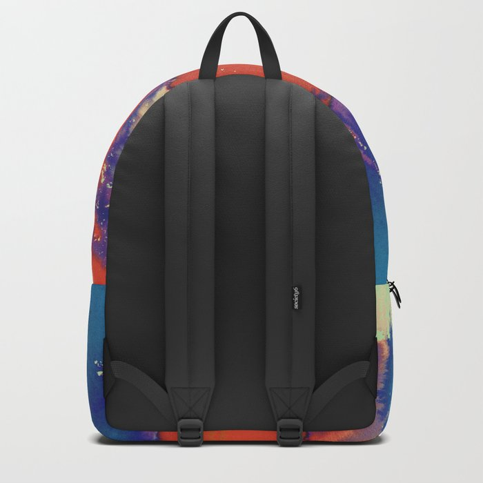 water color explosion Backpack