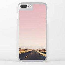 southwestern desert photo Clear iPhone Case