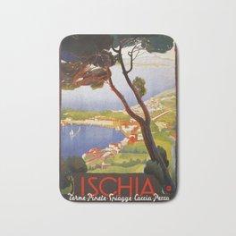 Ischia Island Italy summer travel ad Bath Mat