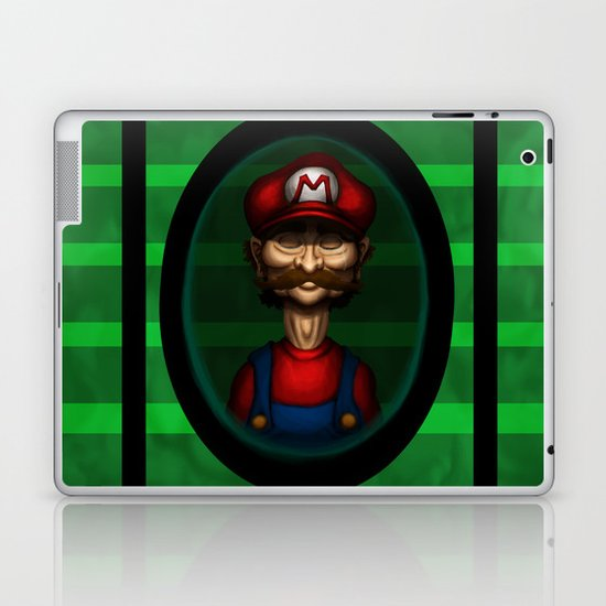 Sad Mario Laptop & iPad Skin