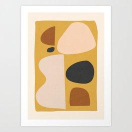 Abstract Shapes 52 Art Print