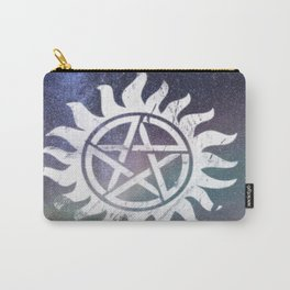 supernatural anti possession symbol Carry-All Pouch
