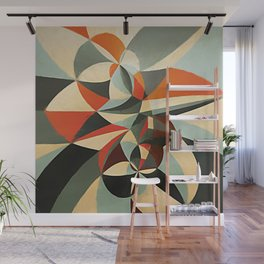 Abstract Composition 346 Wall Mural