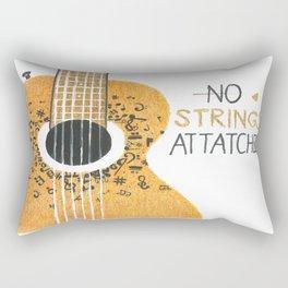 GuitarStrings Rectangular Pillow