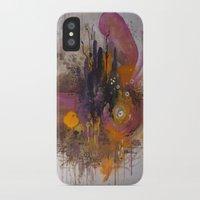 playstation iPhone & iPod Cases featuring Pinkpurple Playstation Catrabbit - Gamepad Series by Kid Doom