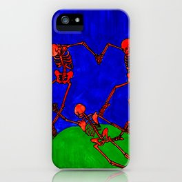 Red Dance, after Matisse iPhone Case