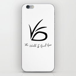 VFD - A Series of Unfortunate Events iPhone Skin
