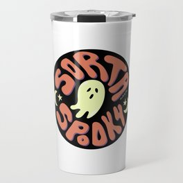 Sorta Spooky Travel Mug