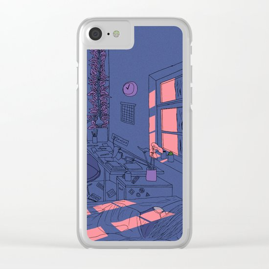 Arte Nº 5 Clear iPhone Case