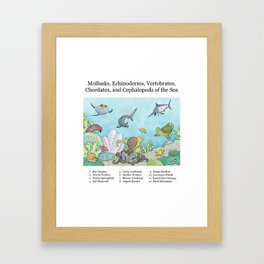 Go Fish! Framed Art Print