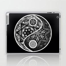 Yin Yang Zentangle Laptop & iPad Skin