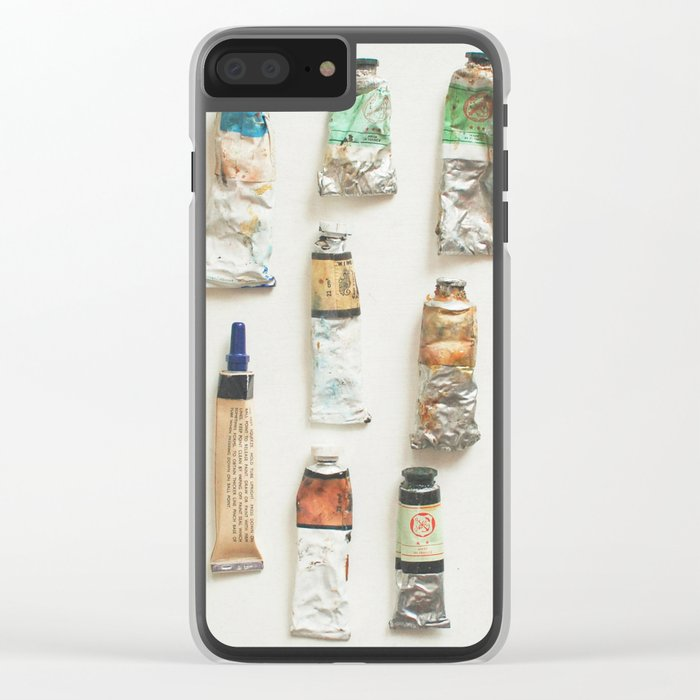 Oils Clear iPhone Case