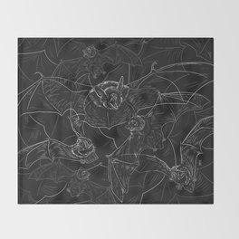 Bat Attack Throw Blanket