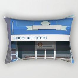 Berry Butchery Queen Street Rectangular Pillow