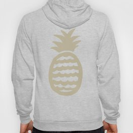 Golden pineapple pattern Hoody