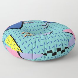 Memphis Pattern 14 - 80s Retro Floor Pillow