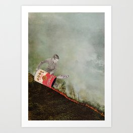 Set Fire Art Print