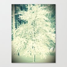 A Perfectly Snowy Day Canvas Print