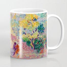 "Henri-Edmond Cross ""Lady at the Park"" Coffee Mug"