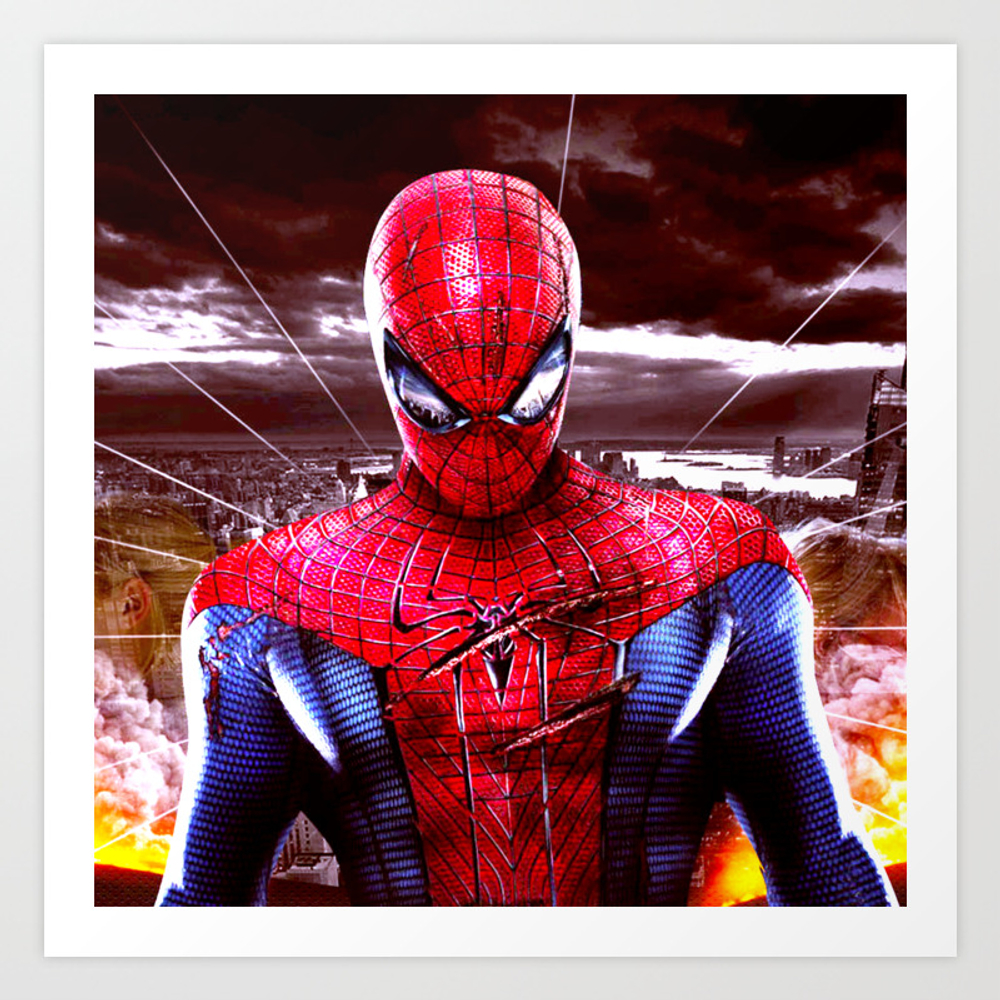 Spider Man Art Print by B000 PRN9046128