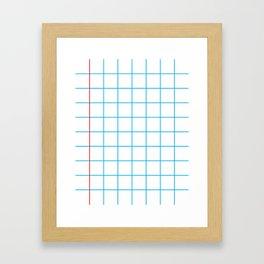 The Mathematician Framed Art Print