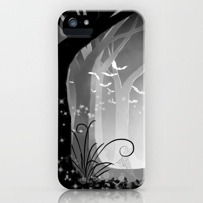 Dark Forest at Dawn iPhone Case