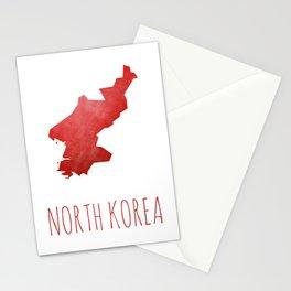 North Korea Stationery Cards