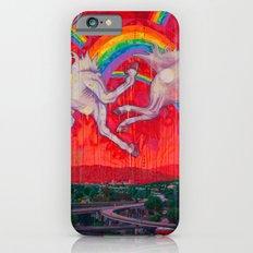 Giant Unicorn Exploding Rainbows Over Glendale iPhone 6s Slim Case