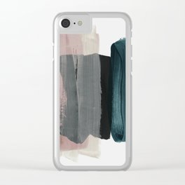 minimalism 1 Clear iPhone Case