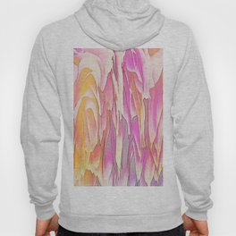 244 - Waterfall of petals abstract design Hoody