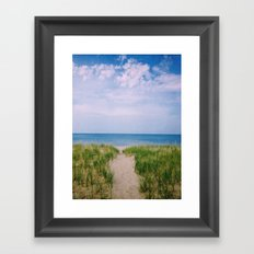Clouds on the Lake Framed Art Print