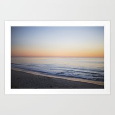 softly in the fading light Art Print