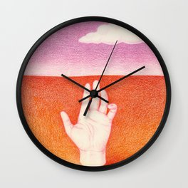 La Main Wall Clock