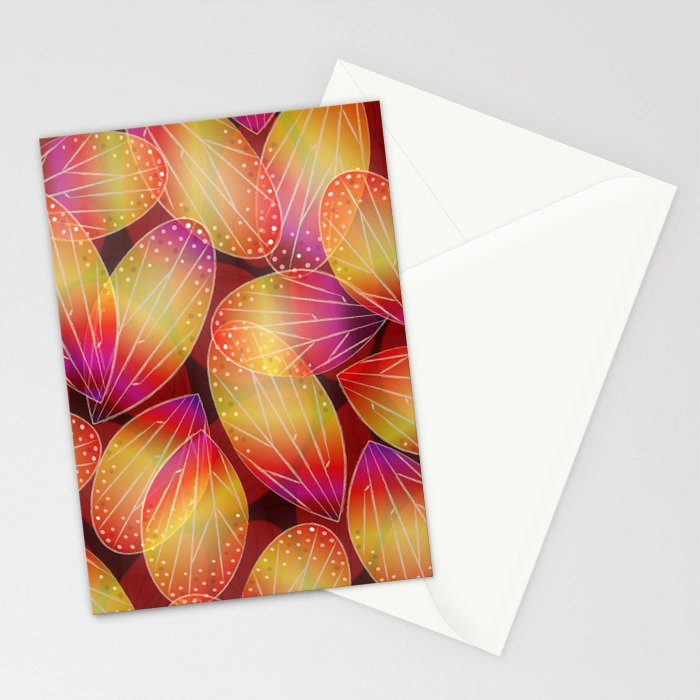Fire Fairy Wings Stationery Cards