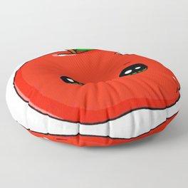 Cute apple Floor Pillow