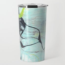 Tangled - Square Abstract Expressionism Travel Mug