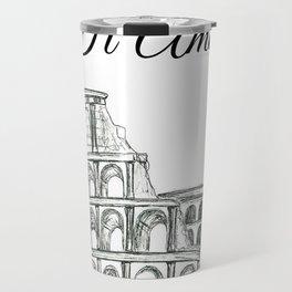 Roman Colosseum Print Travel Mug
