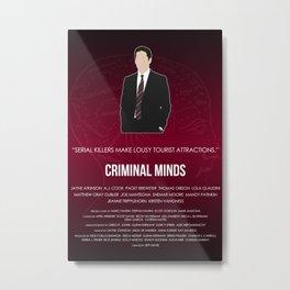 Criminal Minds - Hotch Metal Print
