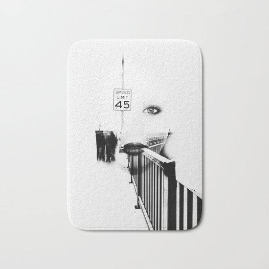 Speed Limit 45 Bath Mat